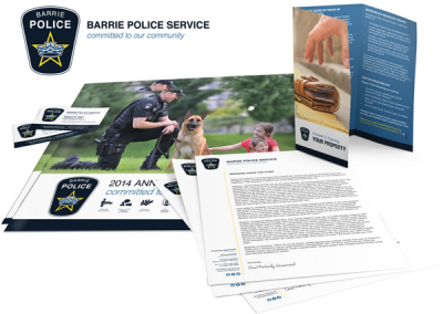 Branding for local police service