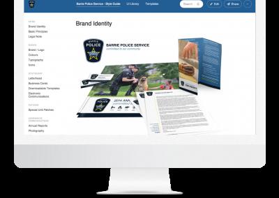 Barrie Police Service – Branding
