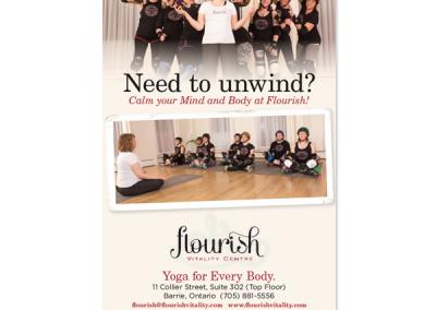 Flourish Magazine Ad
